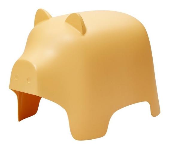 Banquito Silla Infantil Pig Chanchito Poliprop. - Prestigio