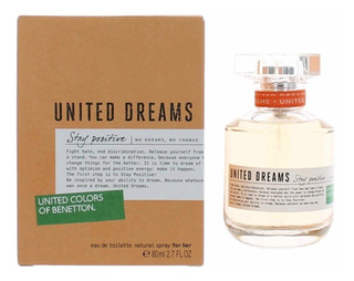 Perfume United Dreams Stay Positive By Benetton Para Mujer