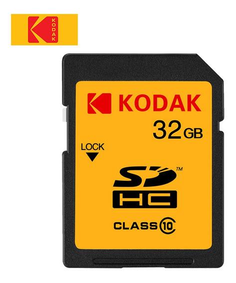 Cartão Sd Kodak U1 32gb Alta Velocidade 85mb/s Classe 10 Car
