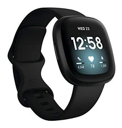 Imagen 1 de 6 de Reloj Inteligente Fitbit Versa 3 Health And Fitness