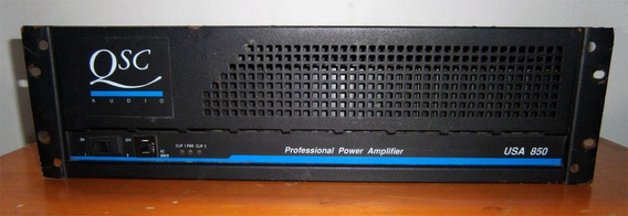 Power Amplificador Qsc Modelo Usa 850 Watts