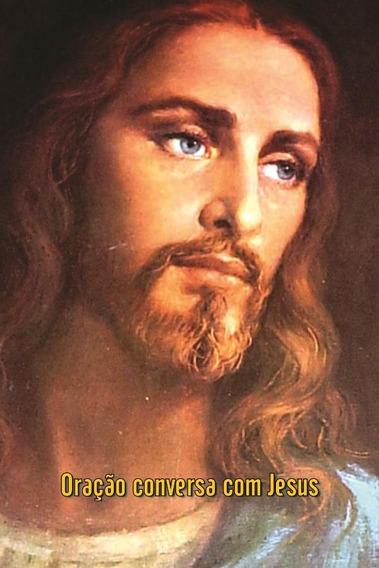 Santinhos Da Oração Conversa Com Jesus - Milheiro