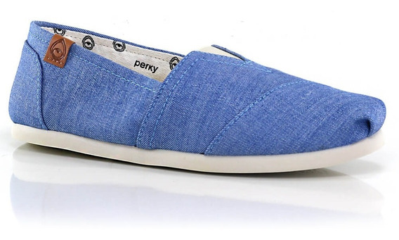 Alpargatas Perky Light Chambray Jeans - Way Tenis