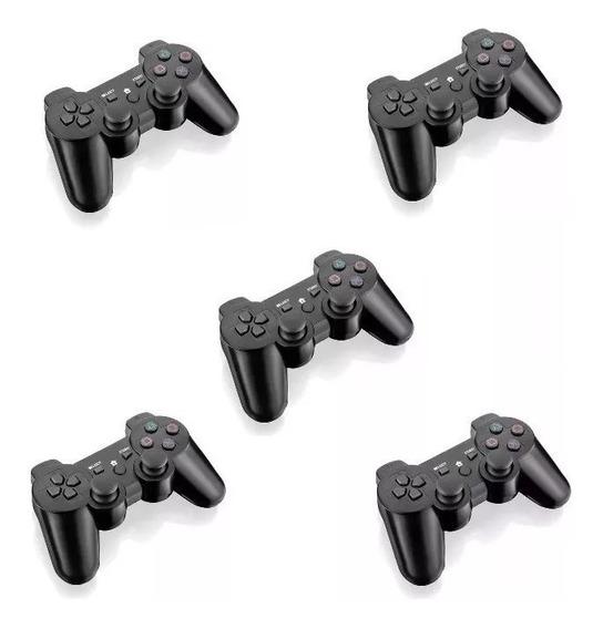 5 Controles Console Ps2 Rio Cristal