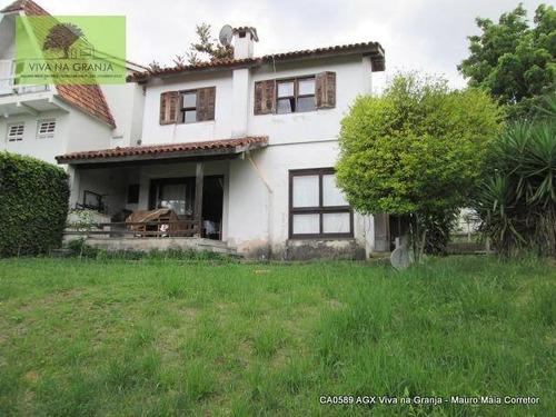 Imagem 1 de 30 de Casa À Venda, 172 M² Por R$ 650.000,00 - Granja Viana - Carapicuíba/sp - Ca0589