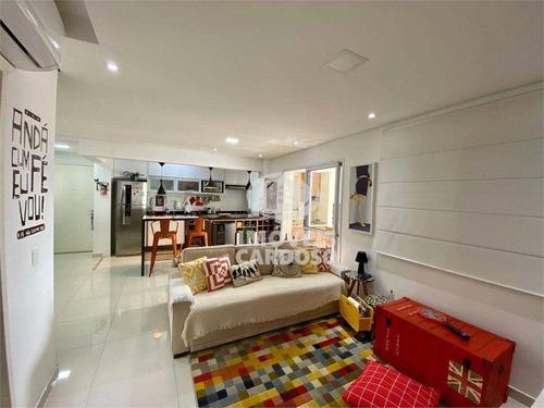 Imagem 1 de 13 de Apartamento Com 2 Dormitórios À Venda, 79 M² Por R$ 815.000 - Vila Leopoldina - São Paulo/sp - Ap17547