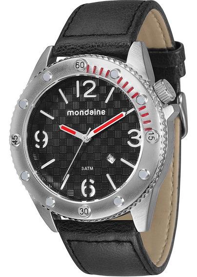 Relógio Mondaine Masculino- Promo 50% Off -mod 76411g0mgnh1