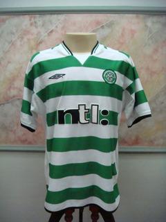 Camisa Futebol Celtic Glasgow Escocia Umbro Jogo Antiga 2290