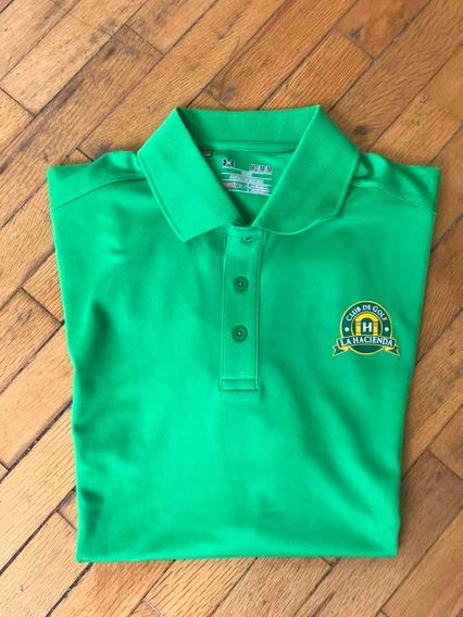 Under Armour Playera Tipo Polo Golf Camiseta Verde Club De G