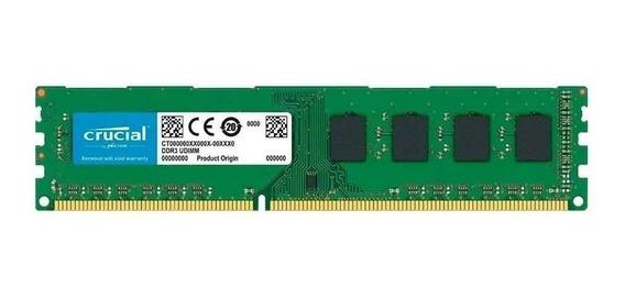 Memoria Ram Crucial Ddr3 4gb 1600mhz (ct51264bd160b)