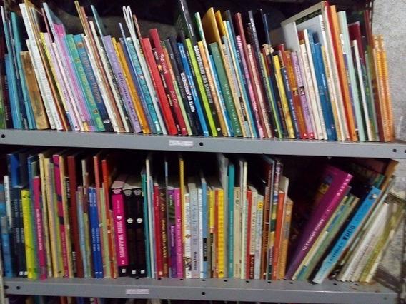 Lote 120 Livros Infanto Juvenis/infantis Para Revenda