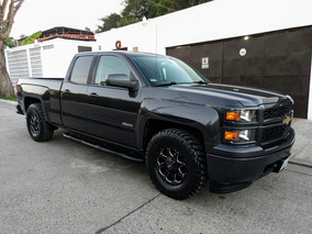 Chevrolet Silverado 2014 Cab. Ext. Unico Dueño ¡¡impecable!!