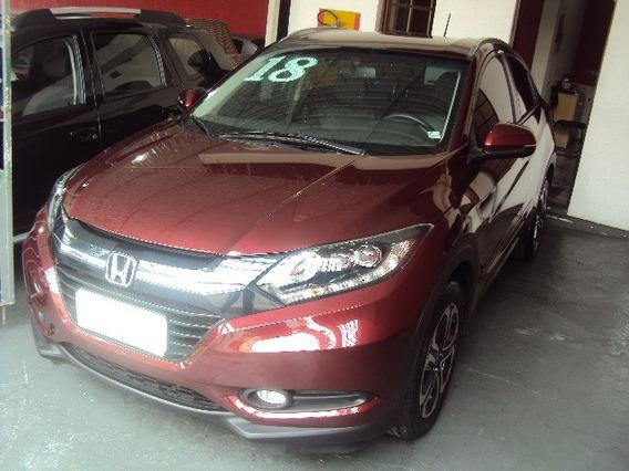 Honda Hr-v Touring 1.8 - 2018, Muito Nova, Top De Linha