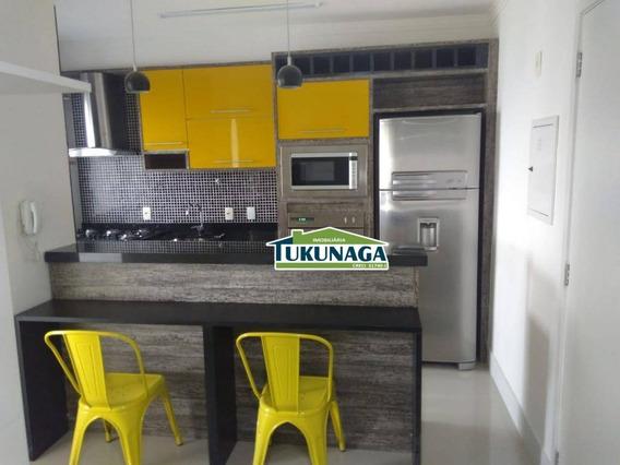Studio Com 1 Dormitório Para Alugar, 30 M² Por R$ 1.500,00/mês - Gopoúva - Guarulhos/sp - St0066