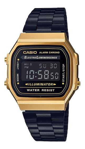 Reloj Casio Vintage Original A168wegb-1bvt Ghiberti