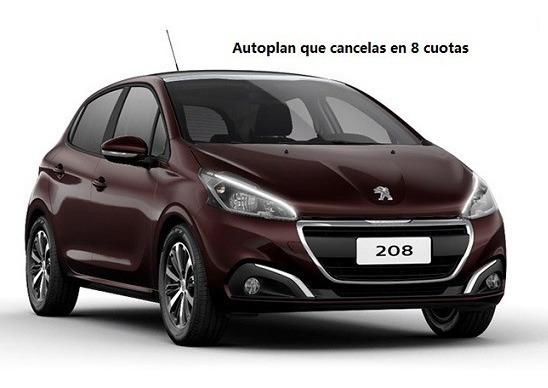 Autoplan Peugeot 208 Con 76 Cuotas Pagas De 84