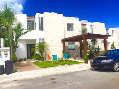 Casa En Cancun, Amueblada Y Decorada, Lista Para Disfrutar