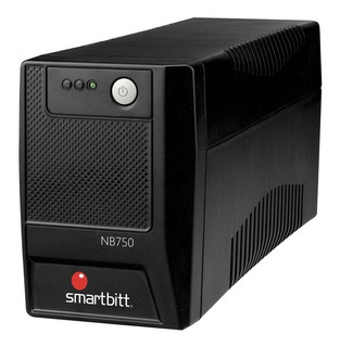 No Break Smartbitt Nb750 750va 375w 6contactos Regulador