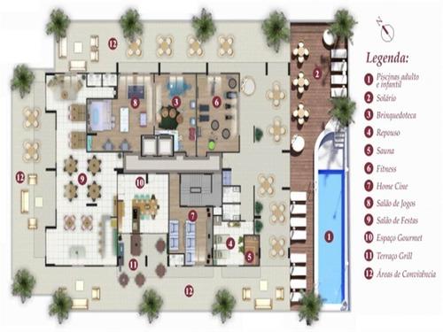 Imagem 1 de 11 de Apartamento - Venda - Caiçara - Praia Grande - Dna1283