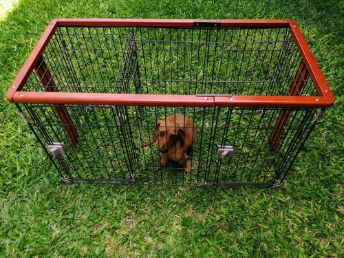 Corral Jaula Para Perros, Mascotas 60 Cm Altura