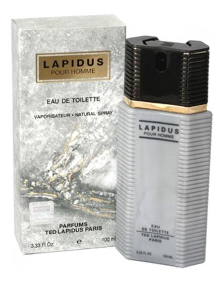 Perfume Ted Lapidus Pour Homme 100ml Edt + Nf - Original!!