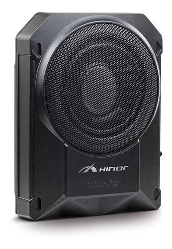 Imagem 1 de 3 de Caixa Amplificada Hinor Active Box Slim 8 Pol Aluminium 250w