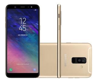 Smartphone Samsung Galaxy A6+ 2018 64gb A605 Dourado | Novo