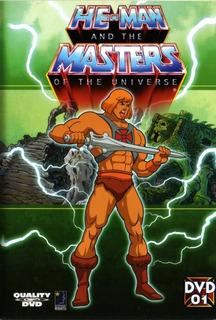 He Man Temporada 1 Volúmenes 1 2 Y 3 - Pack 3 Dvd Originales