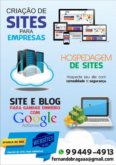 Criação De Sites Para Empresas E Empreendedore
