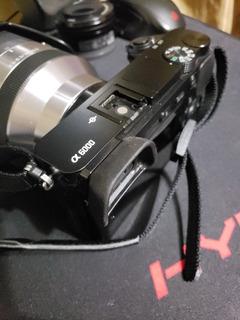 Sony A6000 + Sel 18-200 + Sel 16-50 + Tripode