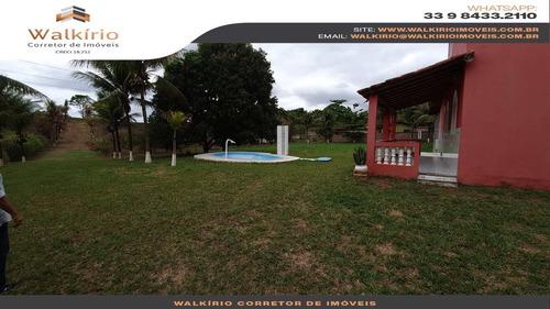 Imagem 1 de 8 de Chácara Com 3 Dorms, Baguari, Baguari - R$ 500 Mil, Cod: 271 - V271