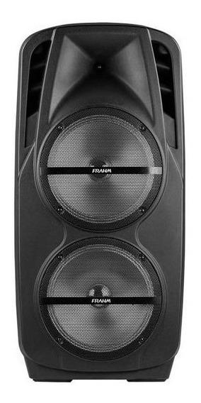 Caixa De Som Frahm 1800w Bateria Microfone Bluetooth