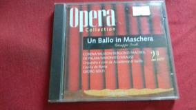 Cd Opera Collection - Un Ballo In Maschera 2ª Parte - Origin