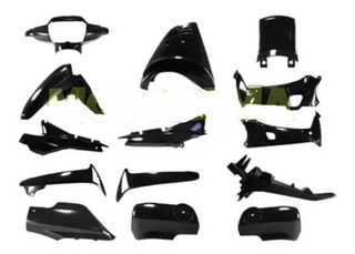 Kit Plasticos Honda Wave 14 Pzas M/viejo S/calcos Hasta2012