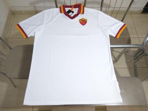 Camisa Oficial Time Futebol As Roma Itália