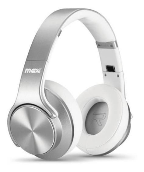 Headphone Maxprint Maxturn Bt/fm/msd - Prata