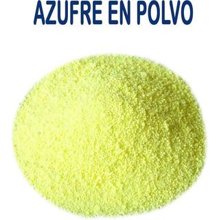 Azufre En Polvo 1kg Fungicida,insecticida,jabones Y Otros