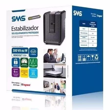 Sms - Estabilizador - Revolution Speedy 300, 115v