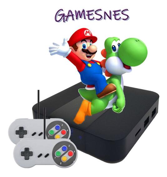 Super Nintendo Portátil Versão Para Televisão - 2 Controles