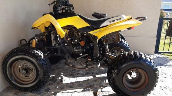 Cuatriciclo Phanter 200 2008 Amarillo