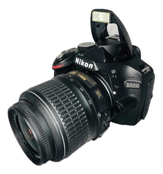 Nikon D3200 Lente 18-55 Excelente Estado Seminova Perfeita