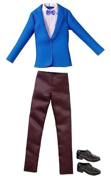 Ken Roupas E Acessórios - Terno Azul - Pack