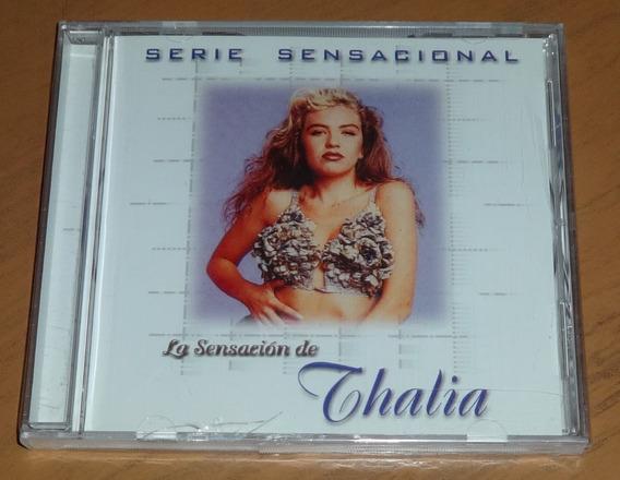 La Sensacion De Thalia - Serie Sensacional Cd Nuevo Sellado