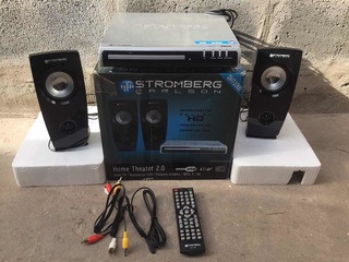 Home Theather 2.0 Stromberg Dht-1000.radio Fm.reproduce Dvd.