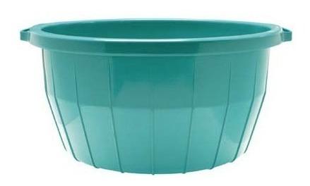 Palanganas Tinas Romana N.3 De Plástico 34 Lt, 2 Piezas
