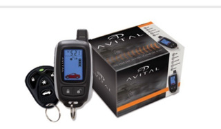 Alarma X Auto Avital 3300l 2vías Control Lcd = Viper 3305v