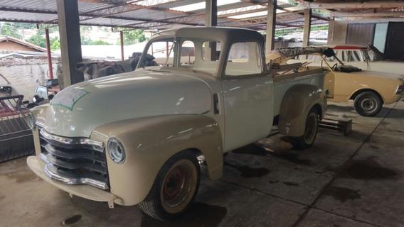 Chevrolet/gm Pickup 1951 - Placa Preta