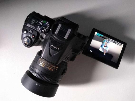 Câmera Nikon D5300+lente Nikon 35mm Dx Af-s