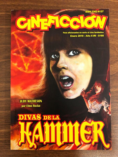 Revista Cineficción Nº9 Judy Matheson Hammer Horror Scifi