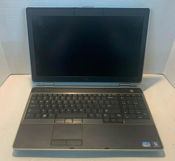 Dell Latitude 15,6, Core I7, 8gb Ram, 500gb